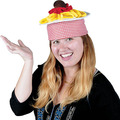 Plush Spaghetti & Meatball Hat