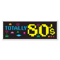 80's Sign Banner
