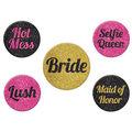 Team Bride Party Buttons