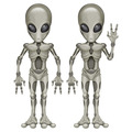 Alien Cutouts