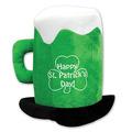Plush St Patrick's Day Beer Mug Hat