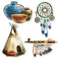 Native American Cutouts