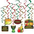 Happy Kwanzaa Whirls