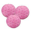 Pink Ribbon Paper Lanterns