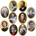 Faces In History Cutouts