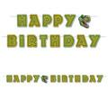 Birthday Dinosaur Streamer