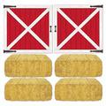 Barn Loft Door & Hay Bale Props