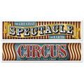 Vintage Circus Banners