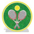 3-D Tennis Centerpiece
