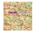 Around The World Luncheon Napkins