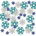 Snowflake Deluxe Sparkle Confetti