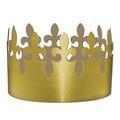 Gold Foil Fleur De Lis Crown