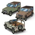 3-D SUV Centerpieces
