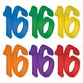"""""""16"""" Foil Silhouettes"""
