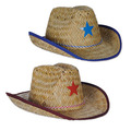Child Cowboy Hats w/Star & Chin Strap