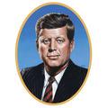 John F Kennedy Cutout