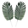 Fabric Fern Palm Leaves