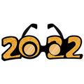 """""""2022"""" Glittered Plastic Eyeglasses"""