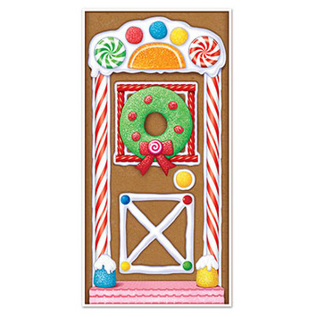 Gingerbread House Door Cover picture