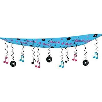 Rock & Roll Ceiling Decor picture