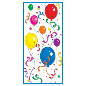Balloons & Confetti Door Cover picture