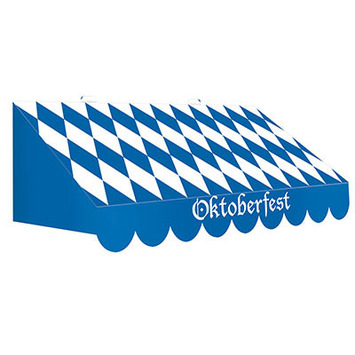 3-D Oktoberfest Awning Wall Decoration picture