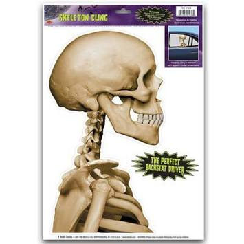Skeleton Car Cling picture
