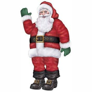 Jointed Santa picture