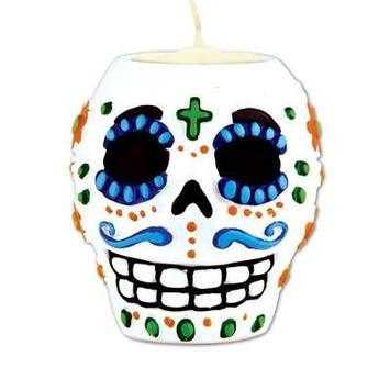 Day Of The Dead Male Tea Light Holder picture