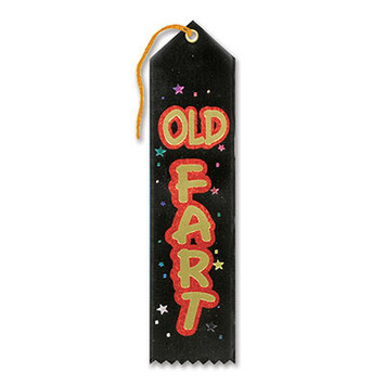 Old Fart Award Ribbon picture