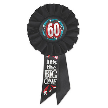 60 It's The Big One Rosette picture
