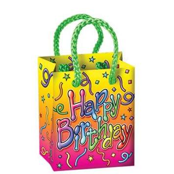 Birthday Mini Gift Bag Party Favors picture