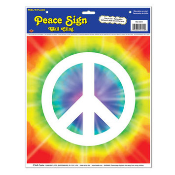 Peace Sign Peel 'N Place picture
