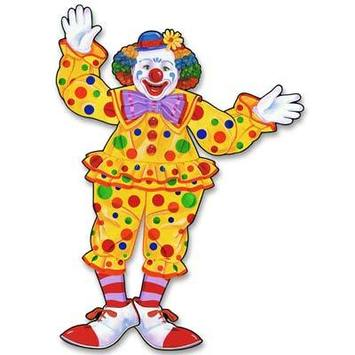 Jointed Circus Clown picture