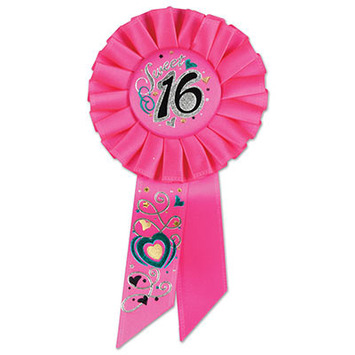 Sweet 16 Rosette picture
