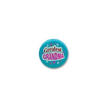 Greatest Grandma Satin Button picture