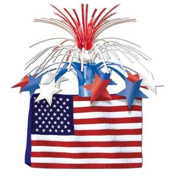 American Flag Centerpiece picture