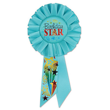Birthday Star Rosette picture