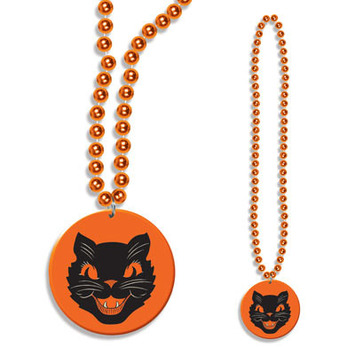 Beads w/Cat Medallion picture
