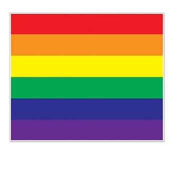 Rainbow Insta-Mural Photo Op picture