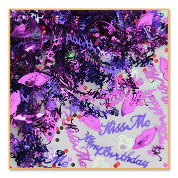 Kiss Me, It's My Birthday Confetti picture