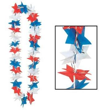 Patriotic Star Party Lei picture