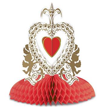 Vintage Valentine Cupid's Heart Ctrpc picture