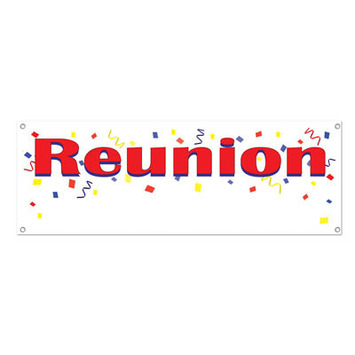 Reunion Sign Banner picture