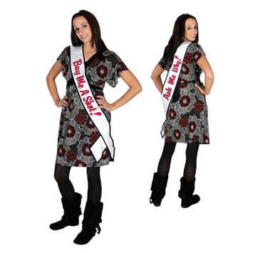 Buy Me A Shot! Ask Me Why! Satin Sash picture
