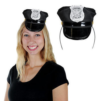 Police Hat Headband picture