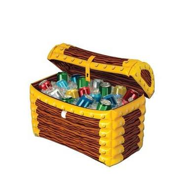 Inflatable Treasure Chest Cooler picture