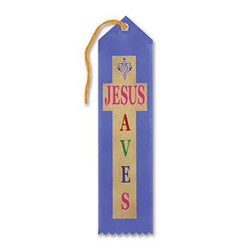 Jesus Saves Ribbon picture