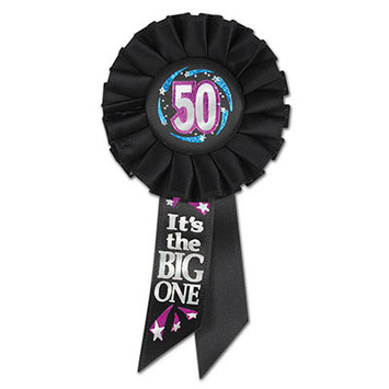 50 It's The Big One Rosette picture