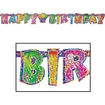 Prismatic Happy Birthday Streamer picture